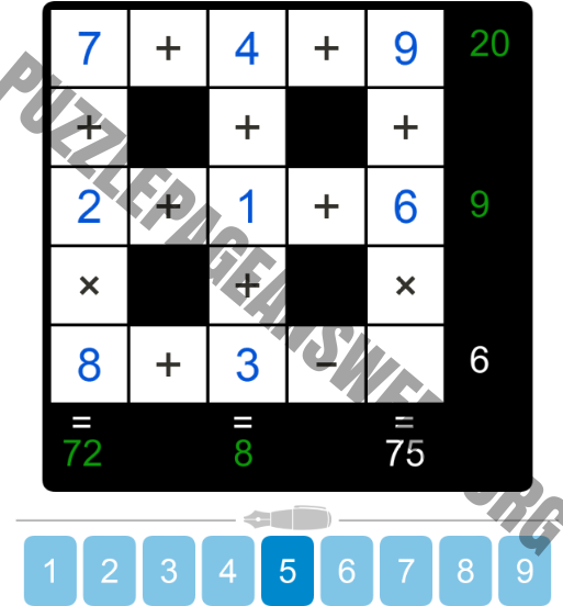 Puzzle Page Cross Sum May 10 2019 Answers Puzzle Page Answers