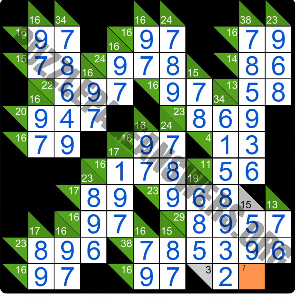 Puzzle Page Kakuro March 28 2020 Answers Puzzle Page Answers