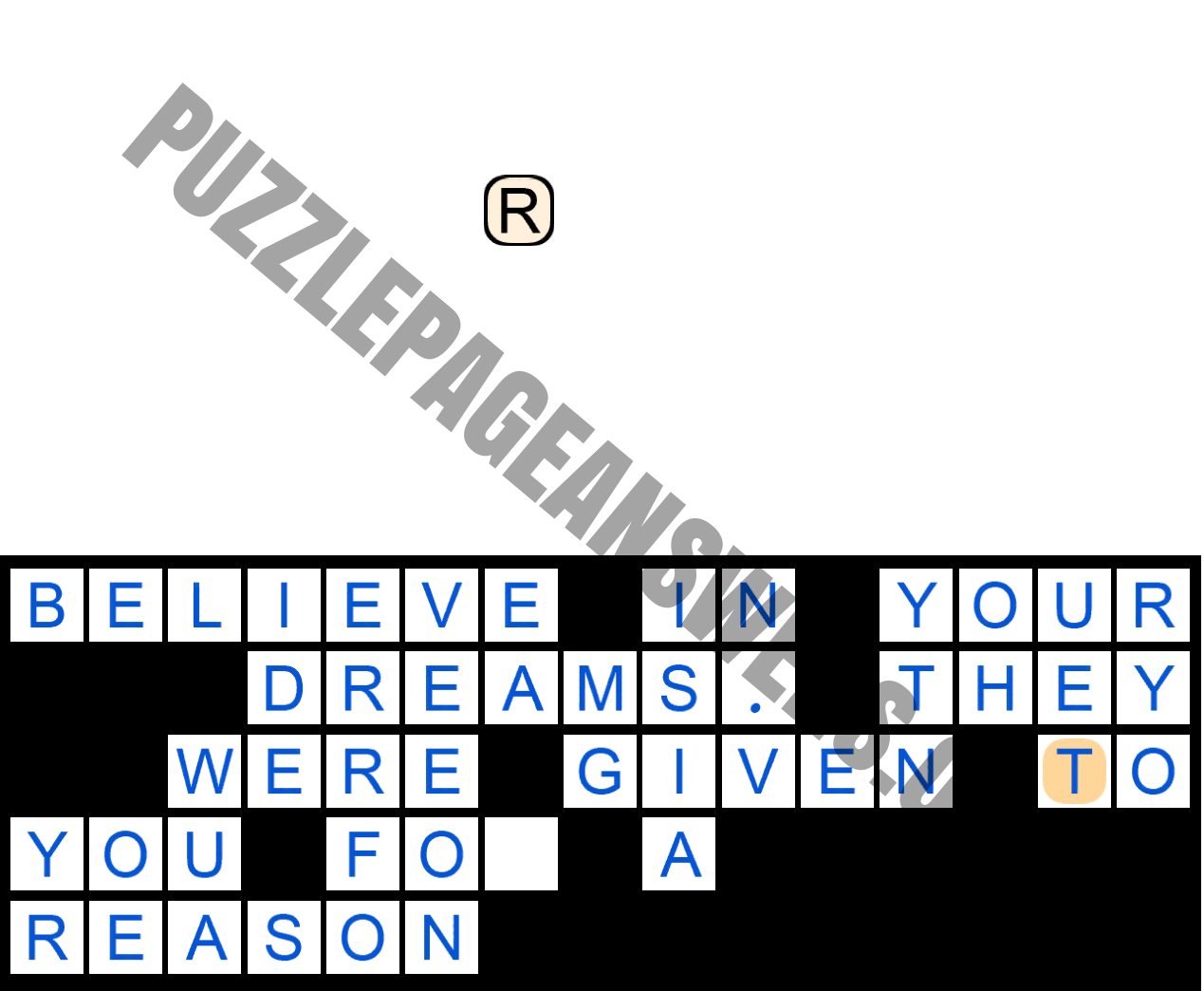 Puzzle Page Quote Slide November 5 2020 Answers Puzzle Page Answers